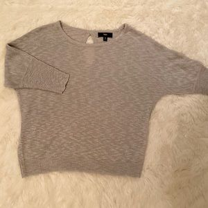 NWT silver sweater. Size small